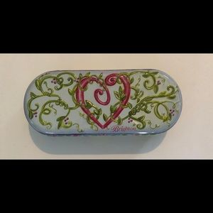 Brighton Whimsical Metal Sunglass Case Felt Lined